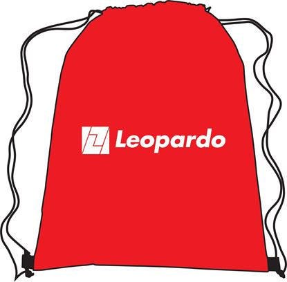 Picture of Red Drawstring Bag