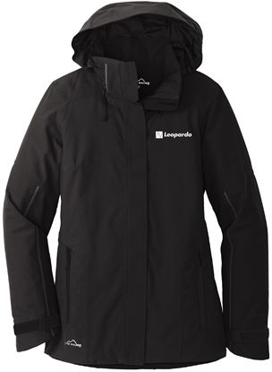 Picture of Women's Eddie Bauer Insulated Jacket (Black - chest embroidery)