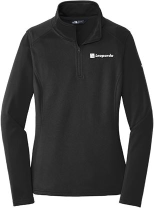 Picture of Women's The North Face 1/4 Zip Fleece (Black)