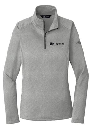 Picture of Women's The North Face 1/4 Zip Fleece (Grey Heather)