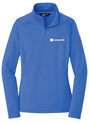 Picture of Women's The North Face 1/4 Zip Fleece (Monster Blue)