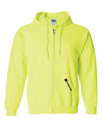 Picture of Full-Zip Hoodie (Safety Green - embroidered)