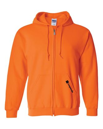 Picture of Full-Zip Hoodie (Safety Orange - embroidered)