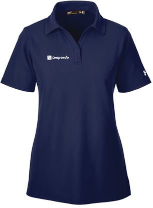 Picture of Women's Under Armour Performance Polo (Midnight Navy)