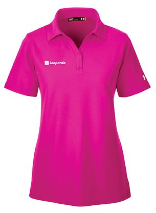 Picture of Women's Under Armour Performance Polo (Tropical Pink)