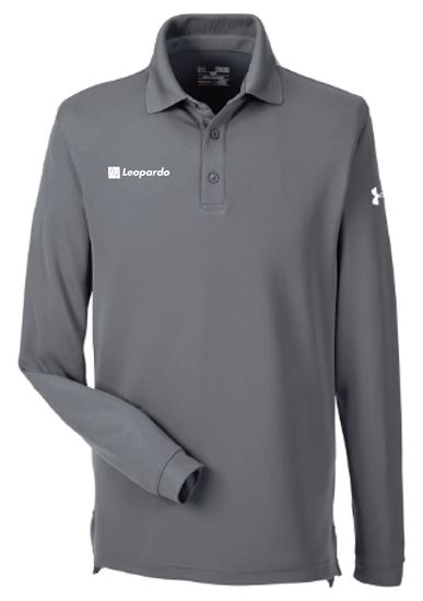 Picture of Men's Under Armour Long Sleeve Performance Polo (Graphite)