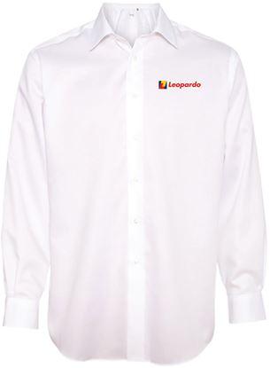 Picture of Men's Calvin Klein Non-Iron Shirt (White)