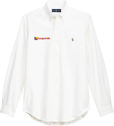 Picture of Men's Polo Ralph Lauren Core-Fit Oxford Shirt (White)