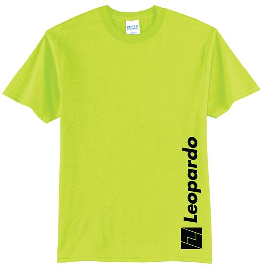 Picture of Ringspun Cotton T-Shirt (Safety Green)