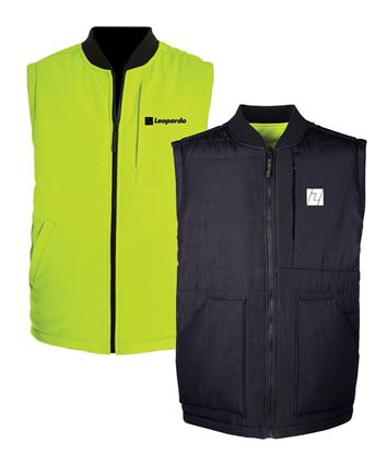 Picture of Reversible Vest (Black/Safety Yellow)