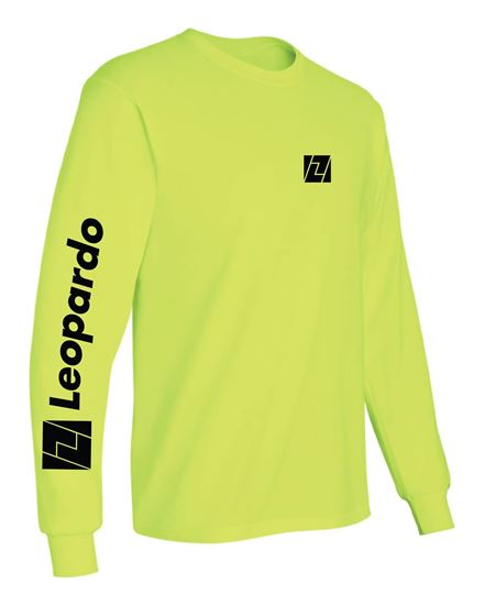 Picture of Long Sleeve T-Shirt (Safety Green)