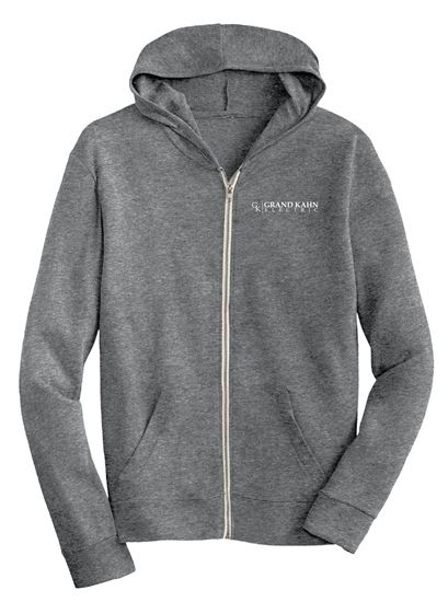 Picture of Men's Eco-Jersey Full Zip Hoodie (GK)