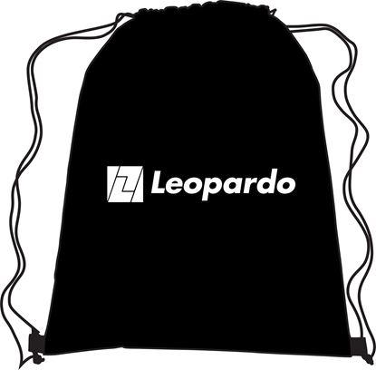 Picture of Black Drawstring Bag