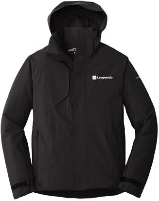Picture of Men's Eddie Bauer Insulated Jacket (Black - chest embroidery)