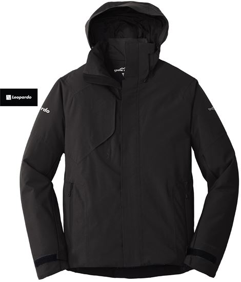 Picture of Men's Eddie Bauer Insulated Jacket (Black - arm embroidery)