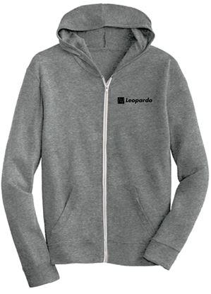 Picture of Men's Eco-Jersey Full Zip Hoodie (Eco-Grey)