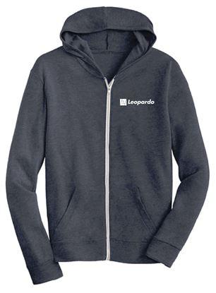 Picture of Men's Eco-Jersey Full Zip Hoodie (Eco-Navy)