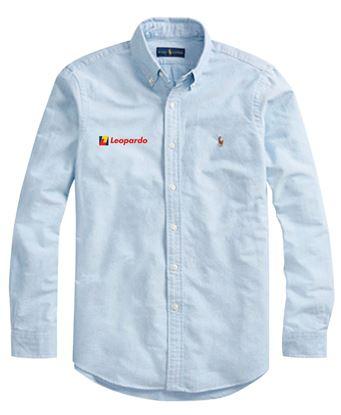 Picture of Men's Polo Ralph Lauren Core-Fit Oxford Shirt (Blue)