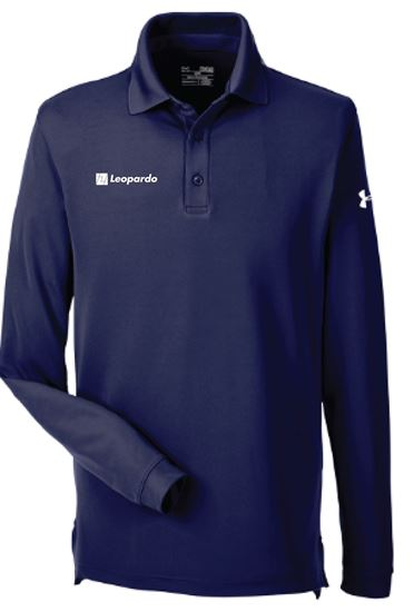 Picture of Men's Under Armour Long Sleeve Performance Polo (Midnight Navy)