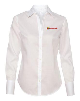 Picture of Women's Calvin Klein Non-Iron Shirt (White)