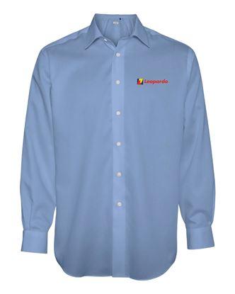 Picture of Men's Calvin Klein Non-Iron Shirt (Blue)
