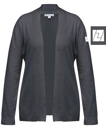 Picture of Women's Cardigan Sweater (Charcoal)