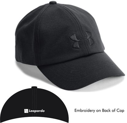 Picture of Women's Under Armour Cap (Black/Black)