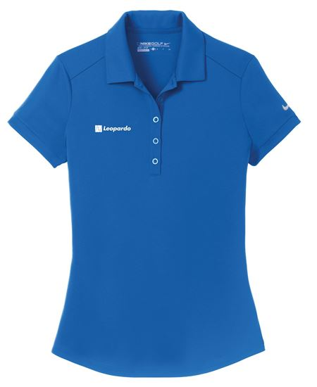 Picture of Women's Nike Dri-FIT Players Modern Fit Polo (Gym Blue)